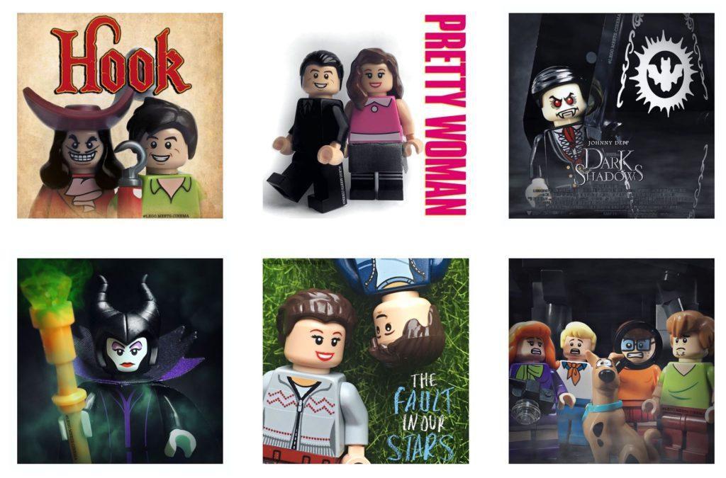 LEGO meets cinema
